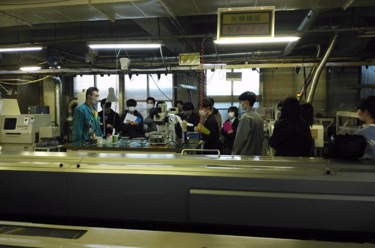 高島産業さんでは、平日さながらに設備を稼働頂きました